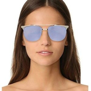 QUAY Private Eyes 55mm Sunglasses